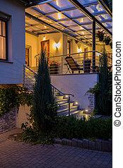 Villa with beauty terrace