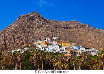 Village at beach Teresitas in Tenerife - Canary Islands