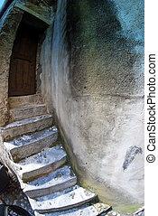 Village Detail in Corsica
