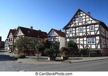 village, historique,  herleshausen