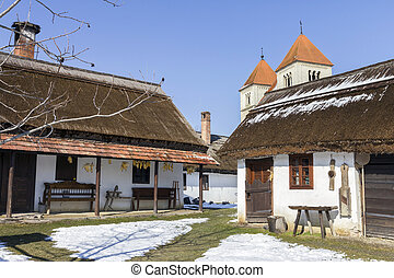 Village houses in Ocsa