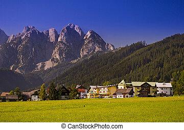 Village in Austrian Alps