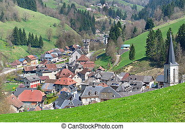 village in Chartreuse (France)