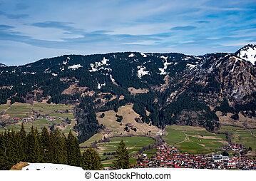 Village in German alps