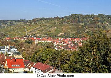 village in Hohenlohe