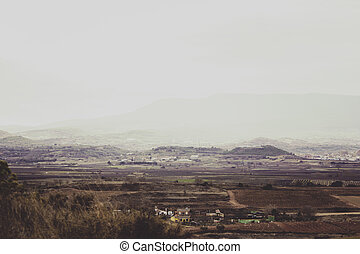 Village in nature