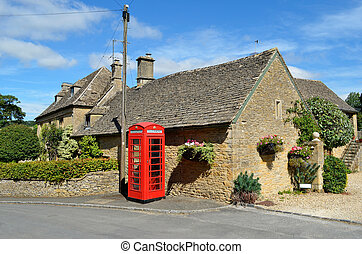 Village in rural England