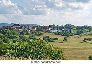 Village in Southern Germany