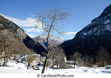 Village in the alps