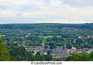 Village in the ardennes (belgium)