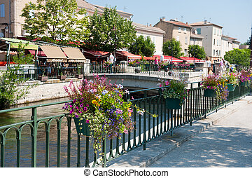 Village Isle de la Sorgue in France