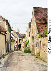Village Noyers little lane