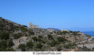Village of Agios Kyprianos, Peloponnese, Greece - Village ...