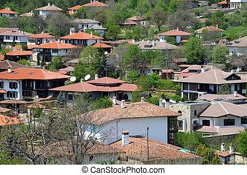 Village of Arbanasi in Bulgaria - Houses of Aranasi village...