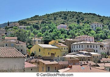 village of Balagne - Corsica - traditional village of ...