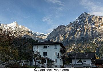Village of Grindelwald, Switzerland