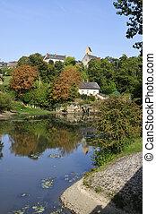 Village of Juigne in France