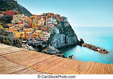 Village Of Manarola, On The Cinque Terre