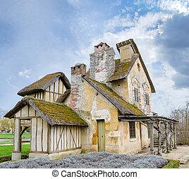 village of Marie Antoinette at Versailles - VERSAILLES,...