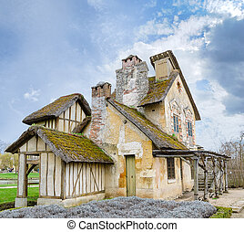 village of Marie Antoinette at Versailles - VERSAILLES,...