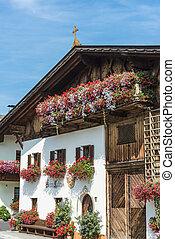 Village of Mutters near Innsbruck, Austria.