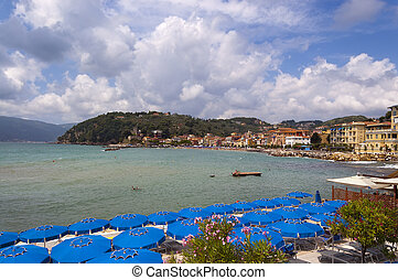Village of San Terenzo - Lerici Liguria Italy