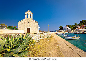 Village of Savar on Dugi otok island, Dalmatia, Croatia