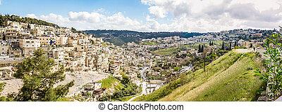 Village of Siloam in Jerusalem, Israel