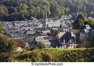 Village of Yport in France
