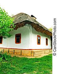 Village old house.