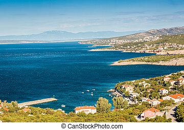 Village on croatian coast