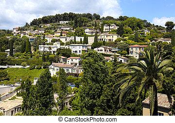village Saint-Paul-de-Vence , Provence, France.