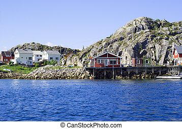 Village Skrova on Norwegian Lofoten Islands - The Norwegian...