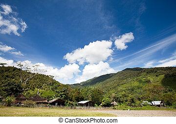 villaggio montagna