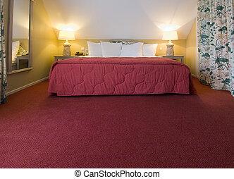 villaház, ágy