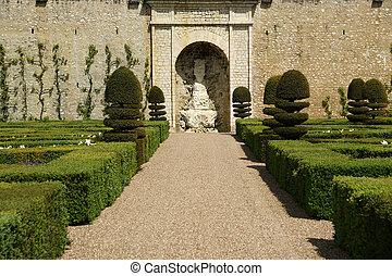 Villandry chateau, France