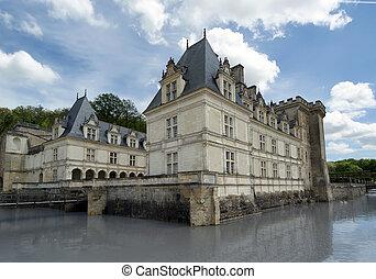 Villandry chateau, Loire Valley, France