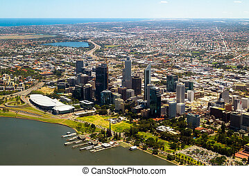 ville, Australie,  Perth, Horizon
