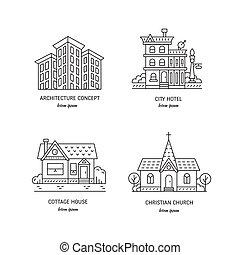 ville bâtiments