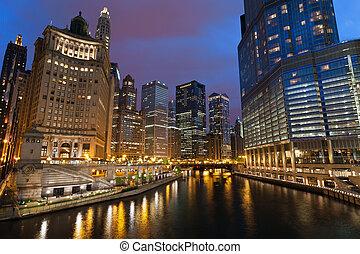 ville, chicago.