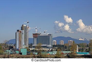 ville, construction