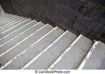 ville, escalier