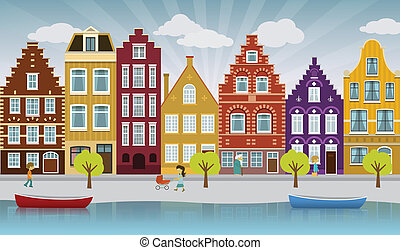 ville, européen