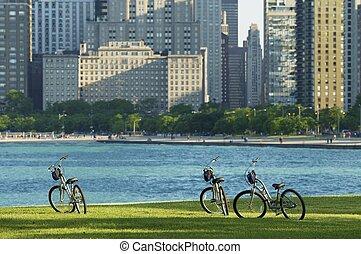 ville, faire vélo