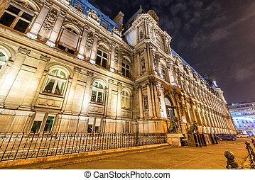 ville, hôtel paris