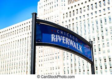 ville, jour, chicago