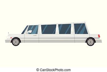 ville, limousine, transport