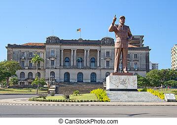ville, maputo, mozambique, salle