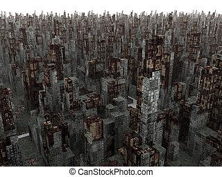 ville, mort