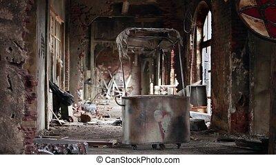 ville morte, ruines